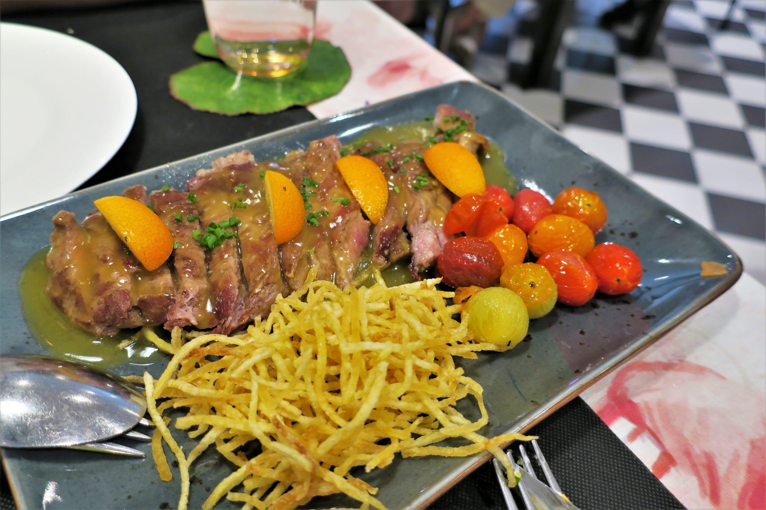 北スペインの観光スポットであるアストゥリアスの牛肉