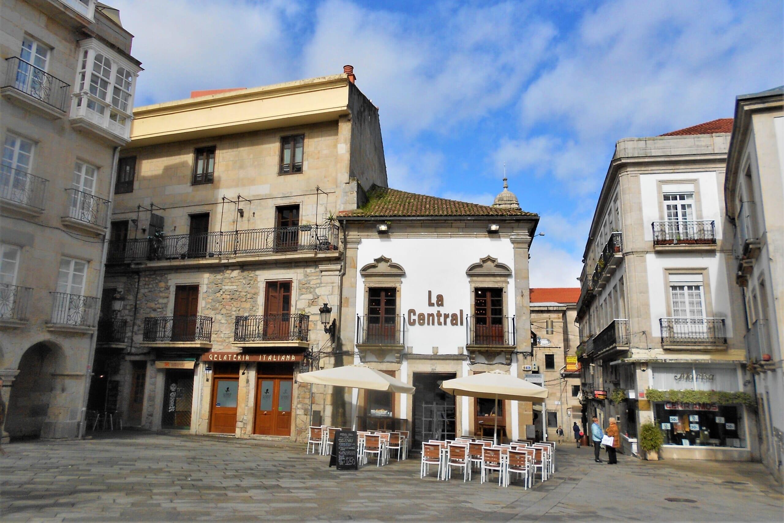 北スペインの観光スポットであるガリシアのビーゴ旧市街