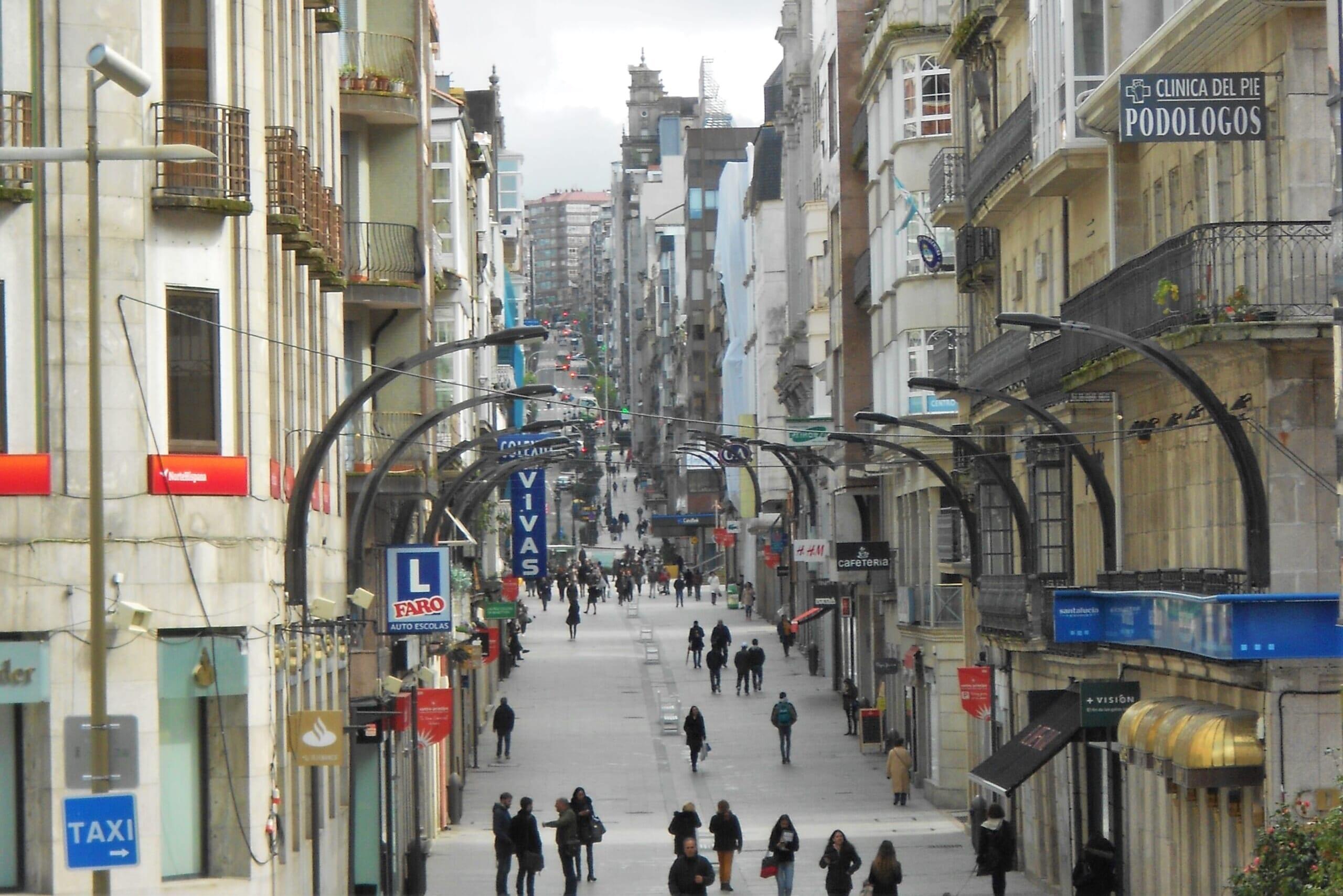 北スペインの観光スポットであるガリシアのビーゴ。