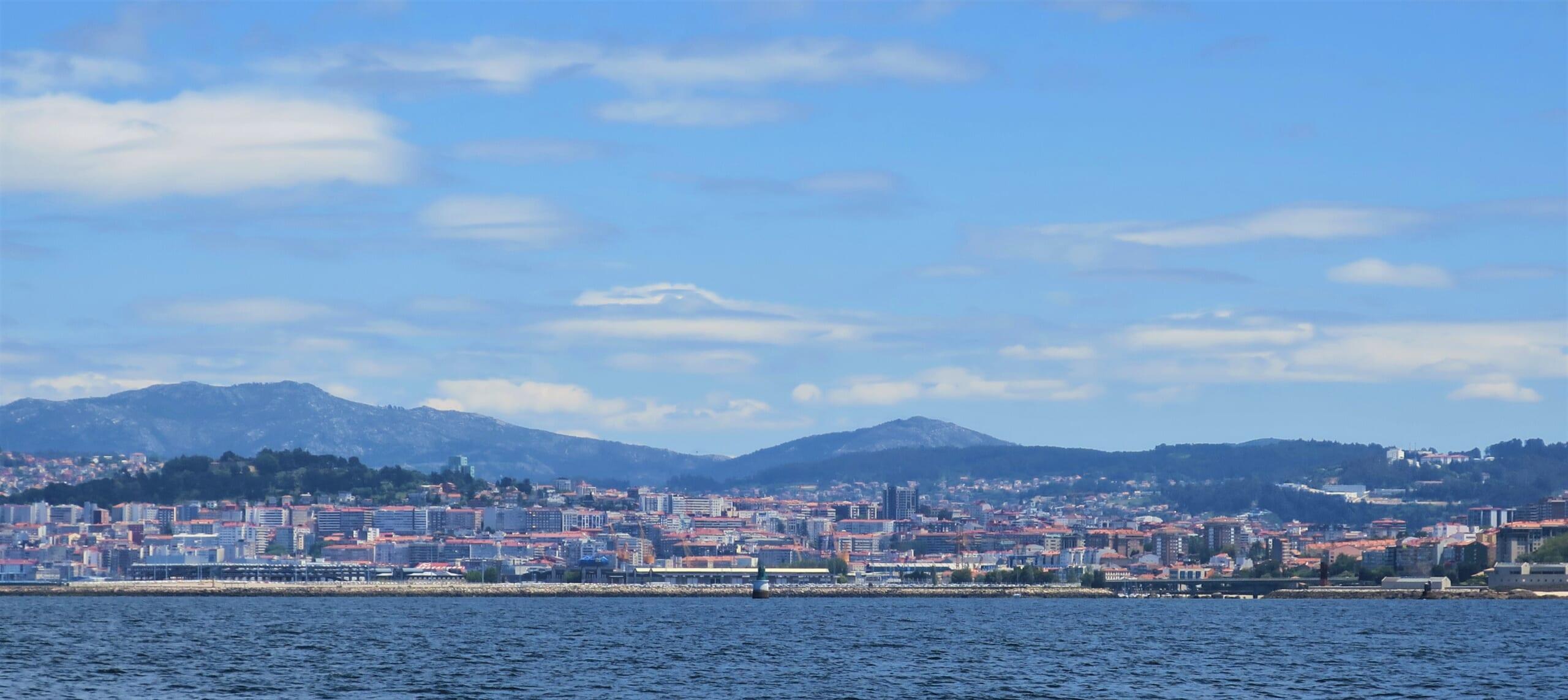 北スペインの観光スポットであるガリシアのビーゴ