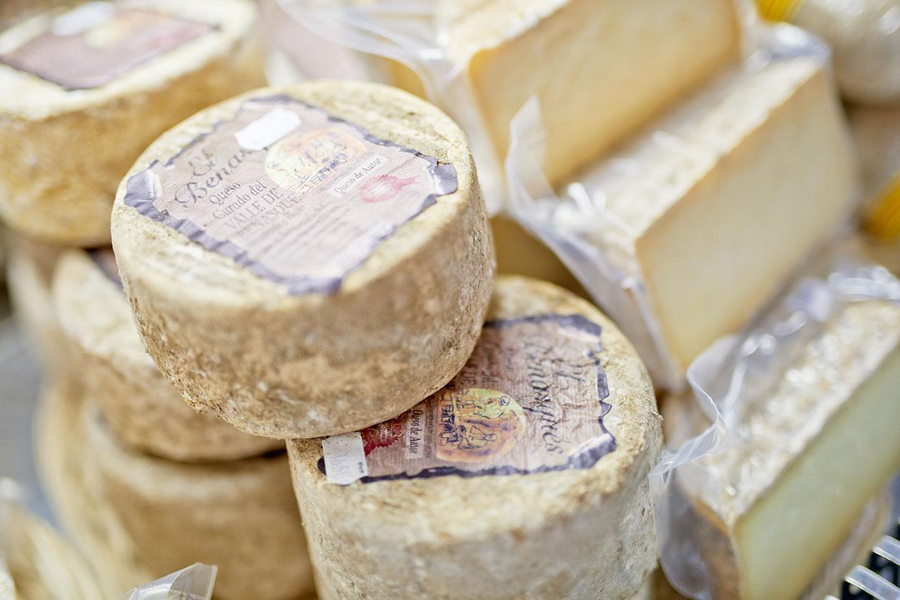 北スペインのピレネー山脈で作られるチーズ
