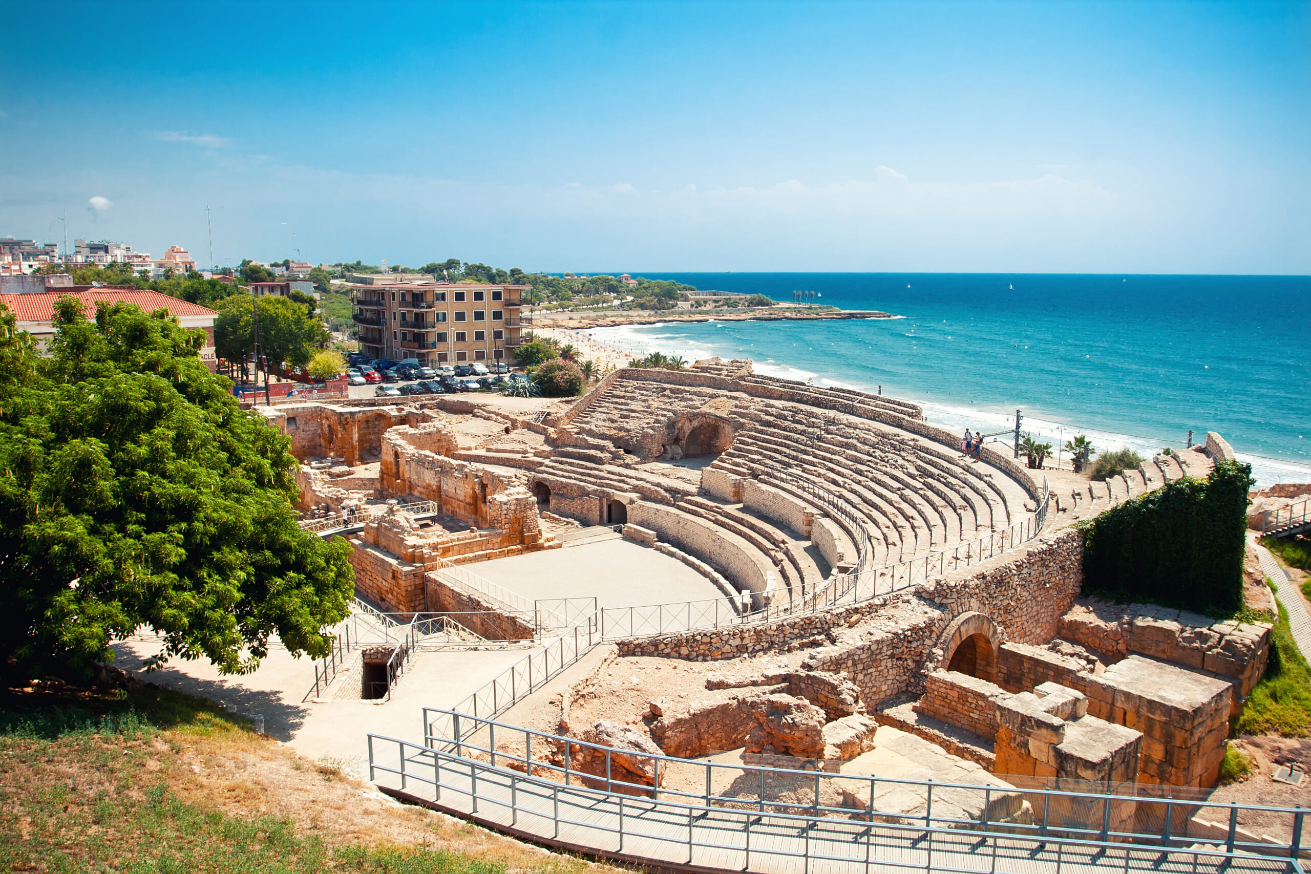 北スペインの観光スポットであるカタルーニャのタラゴナ