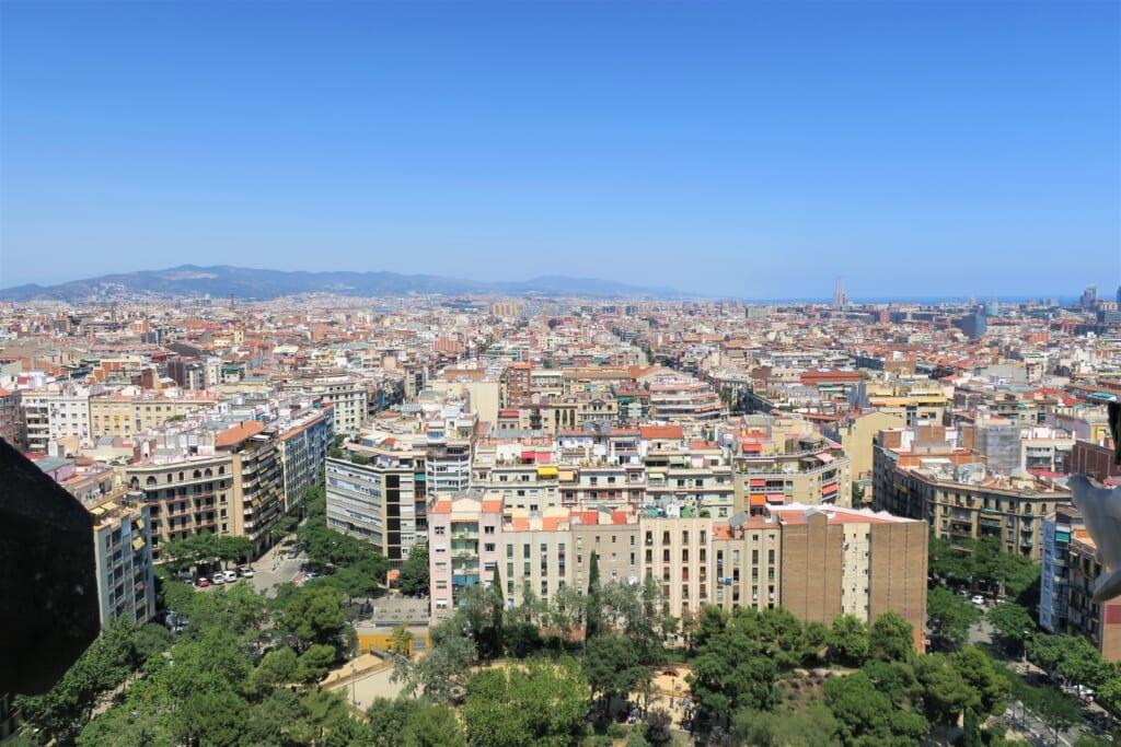 北スペインの観光スポットであるカタルーニャのバルセロナ