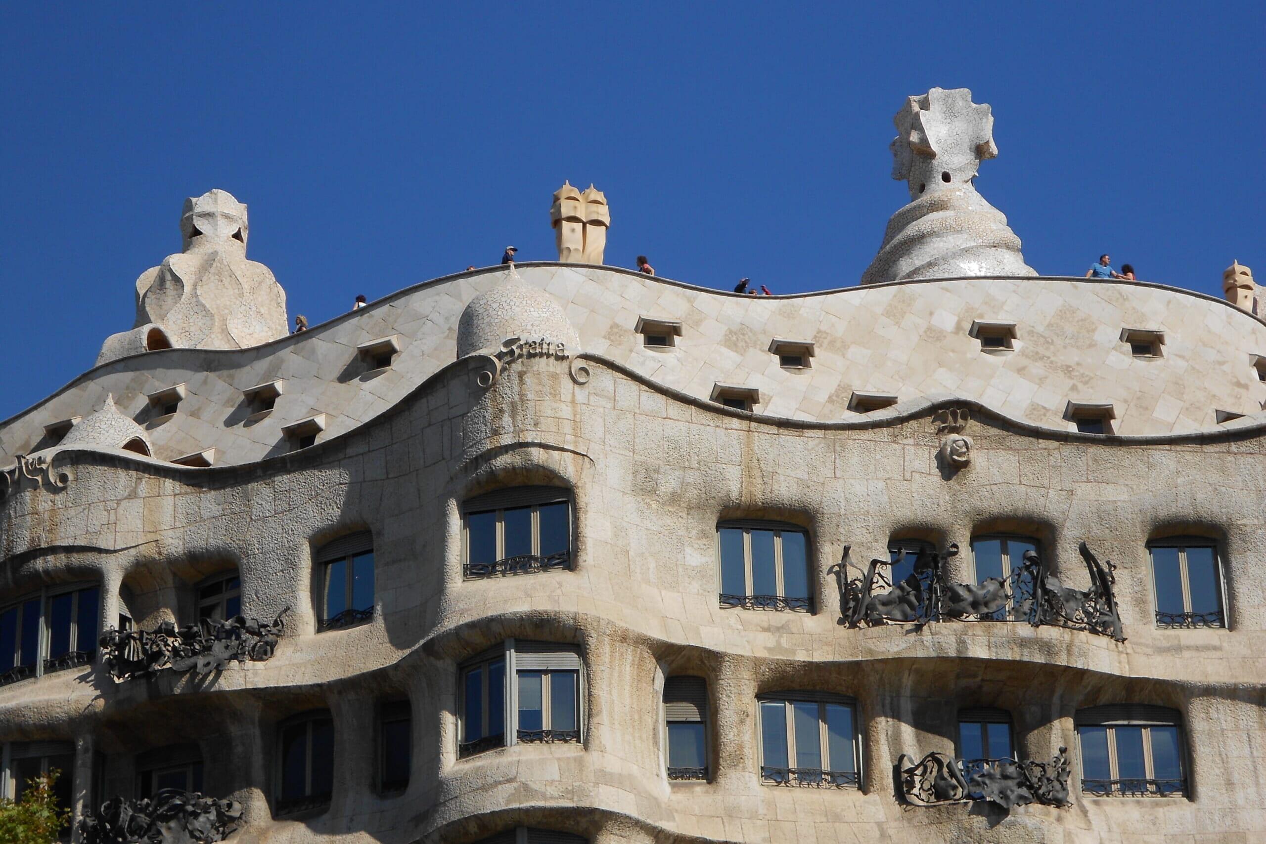 北スペインの観光スポットであるカタルーニャのカサミラ