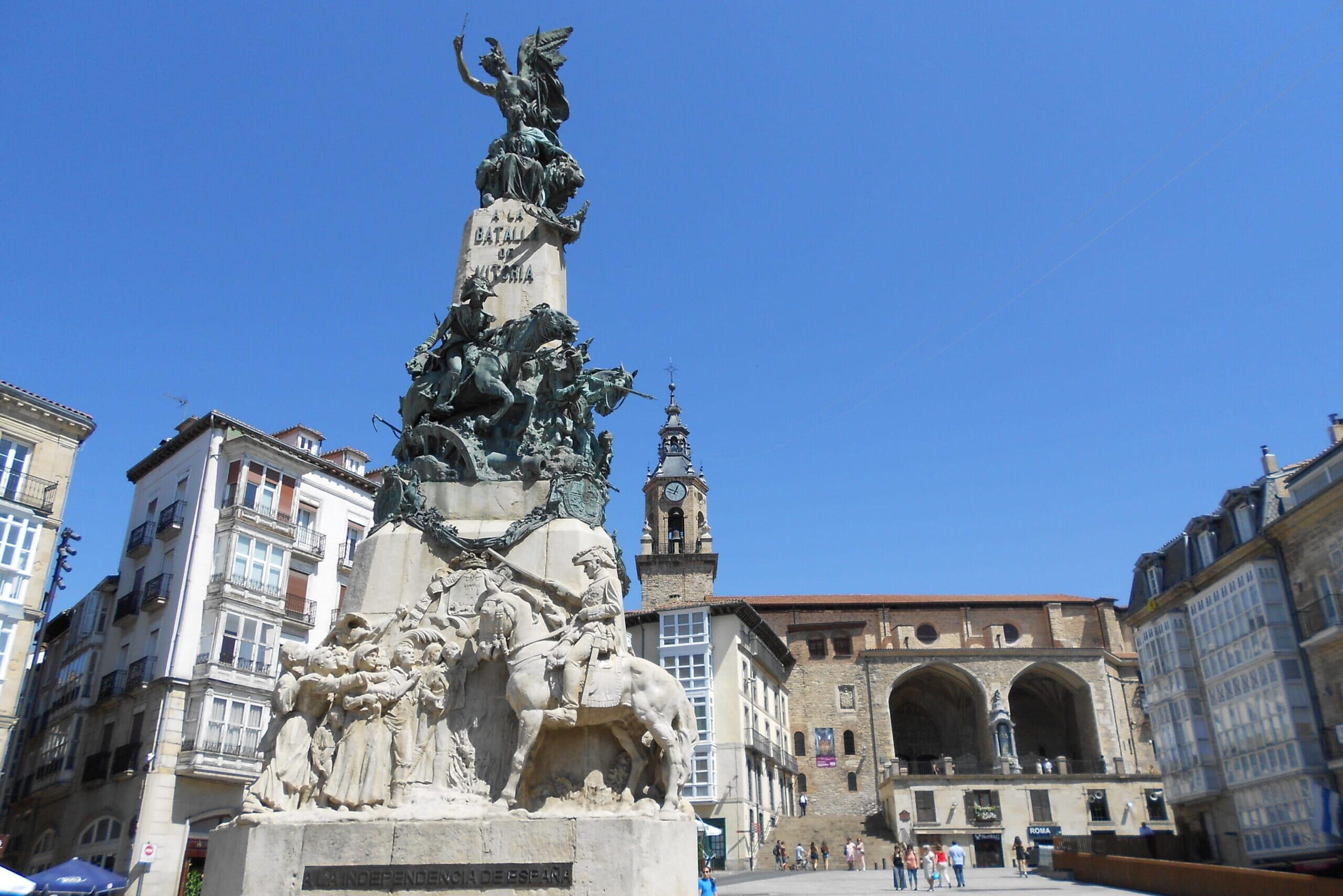 北スペインの観光地であるバスクのビトリア