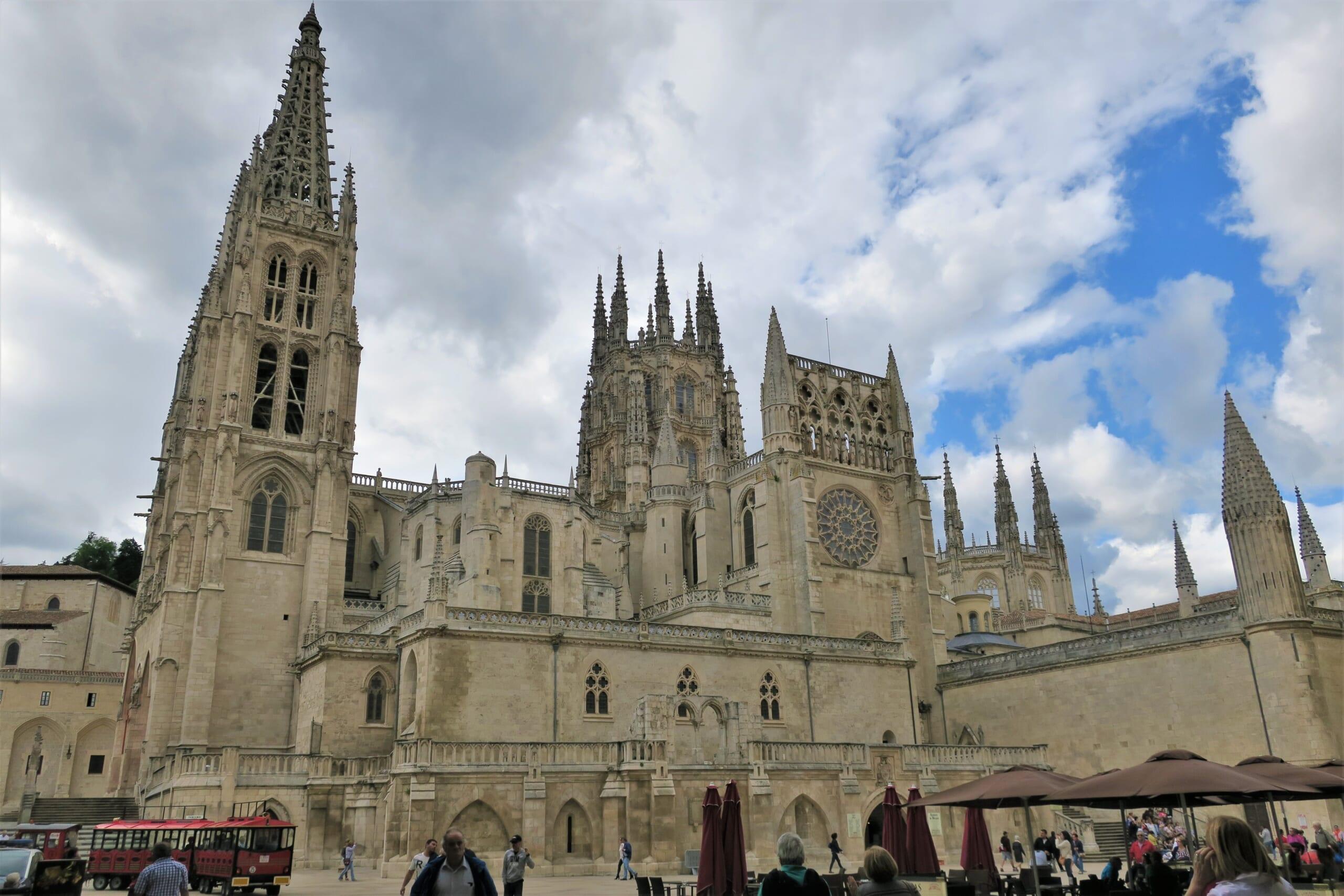 北スペインの観光地であるブルゴスの大聖堂