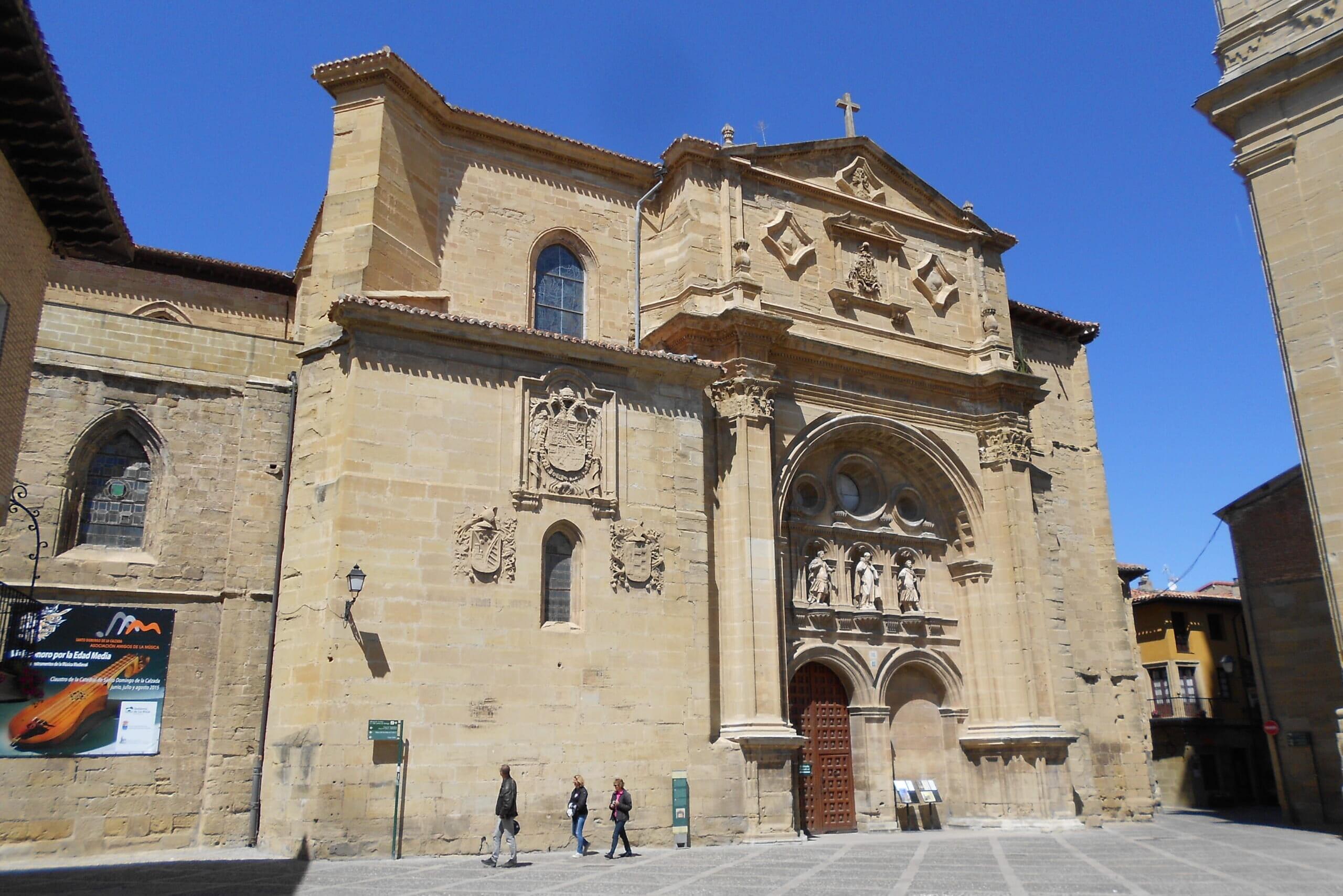 北スペインの観光地であるリオハのサント・ドミンゴ・デ・ラ・カルサダ