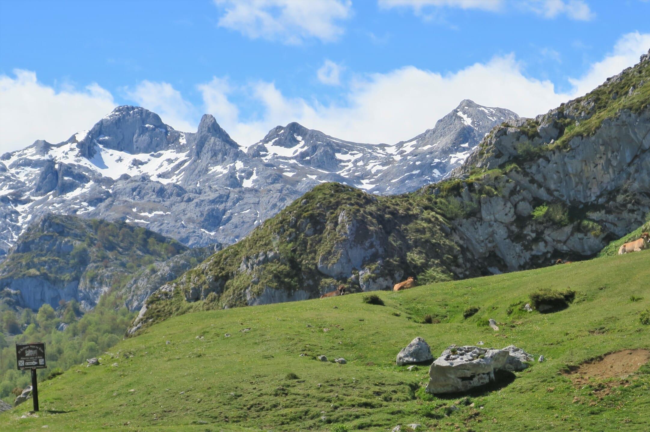 北スペインの観光スポットであるピコス・デ・エウロパ国立公園
