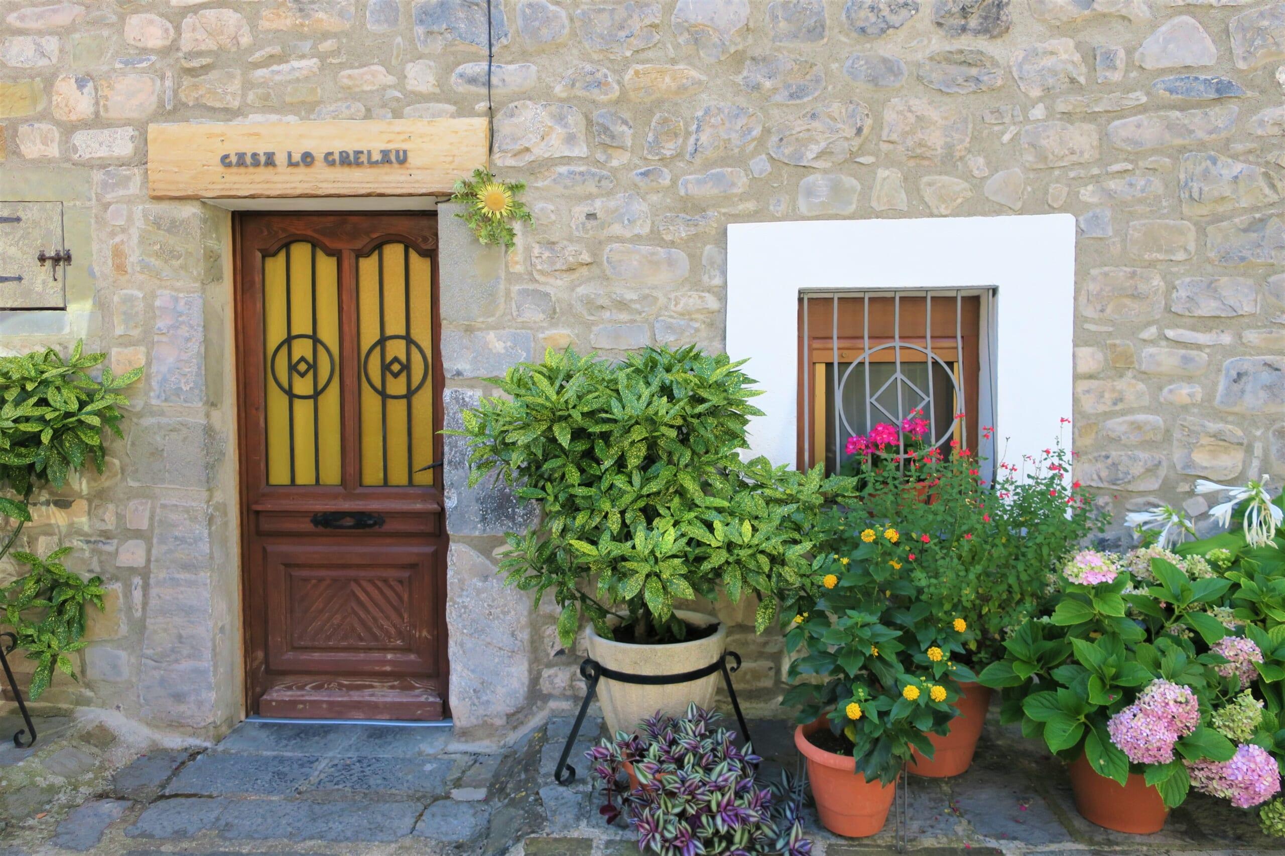 北スペインの観光スポットであるピレネー山中に佇むエッチョ村