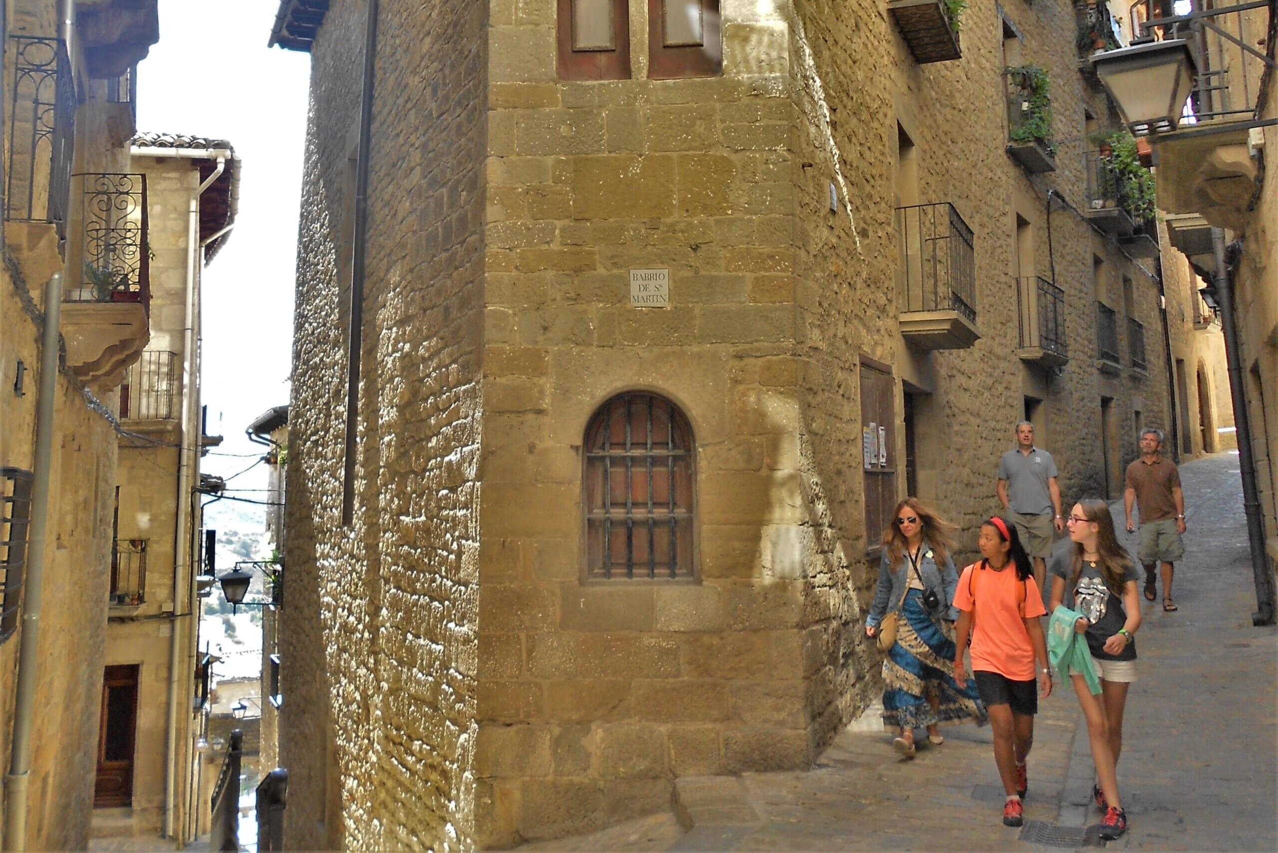 北スペインの観光スポットであるアラゴンのソス・デル・レイ・カトリコ