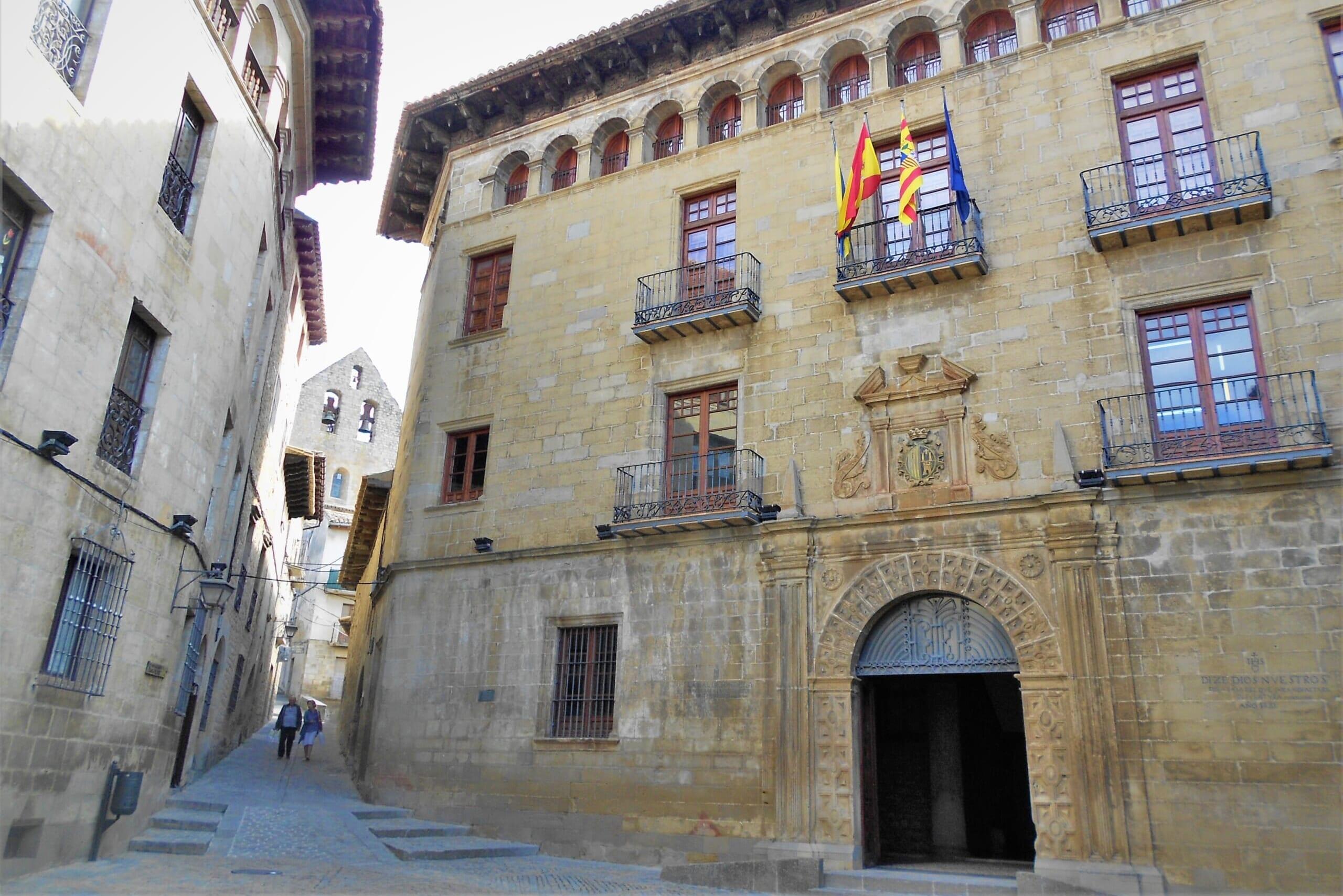 スペインの観光スポットであるアラゴンのソス・デル・レイ・カトリコ