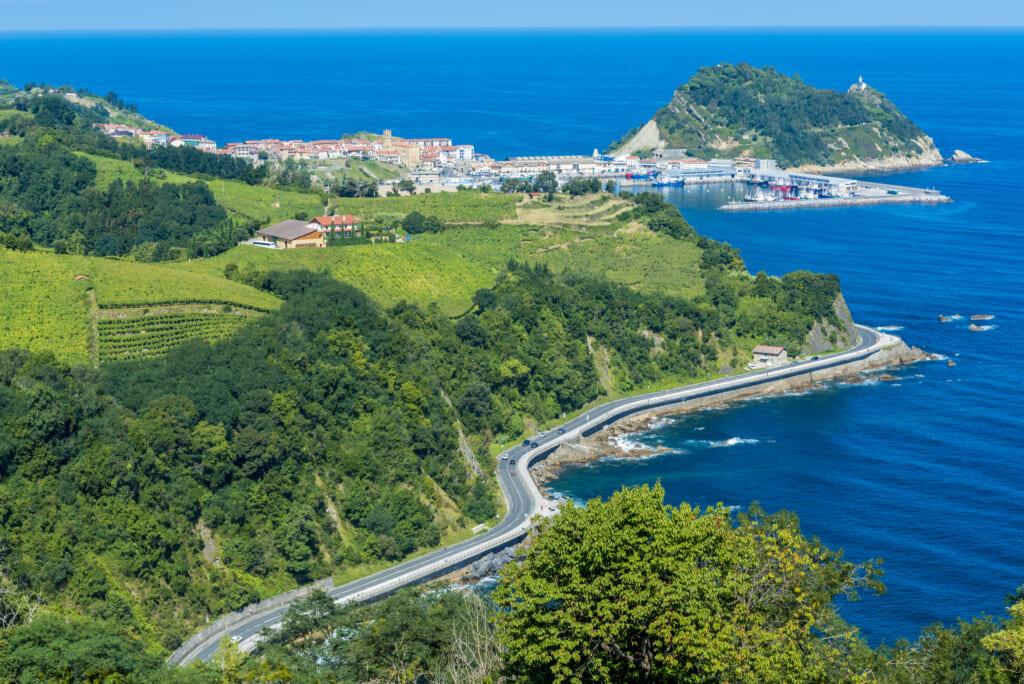 北スペインの観光スポットであるバスクのゲタリア