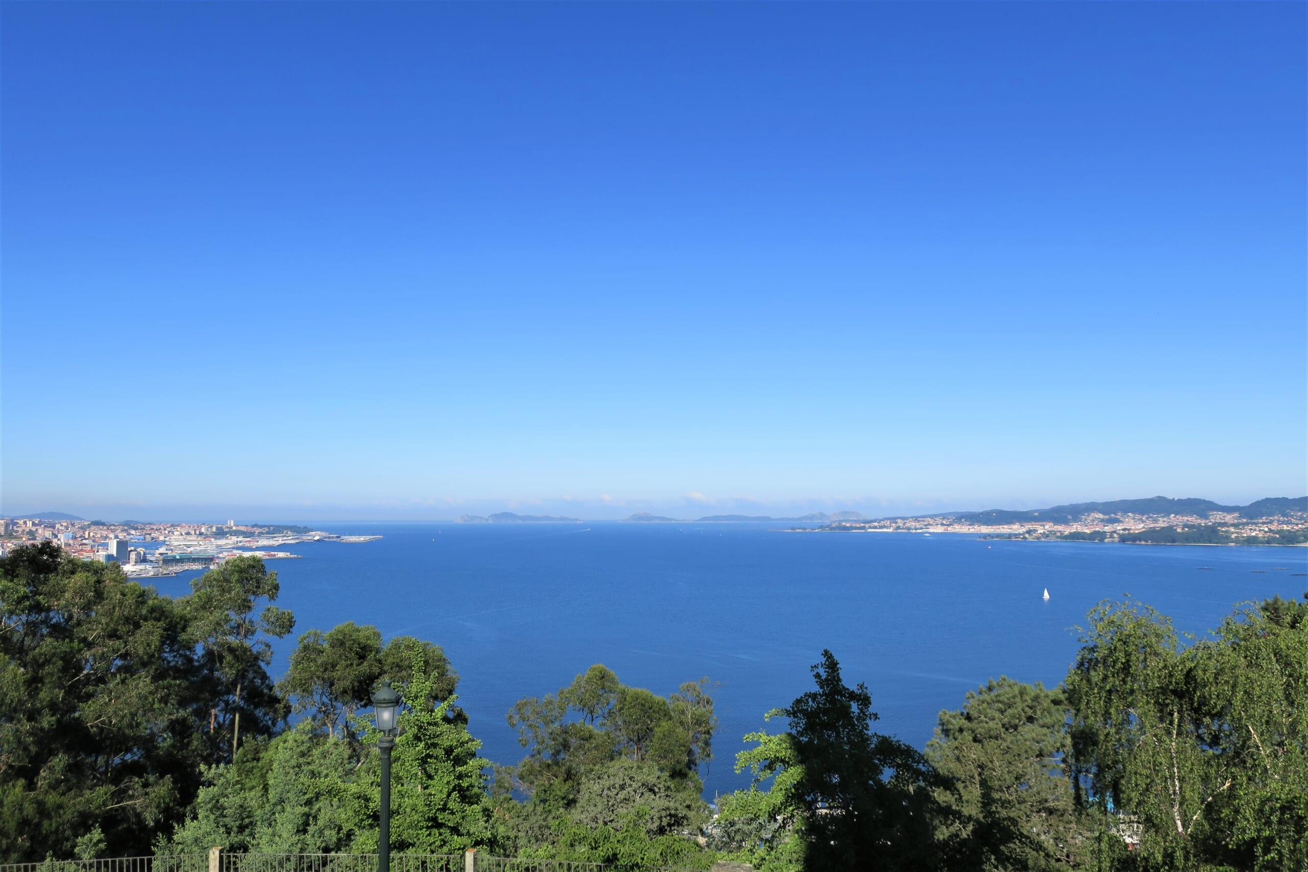 北スペインの自然を代表するシエス諸島