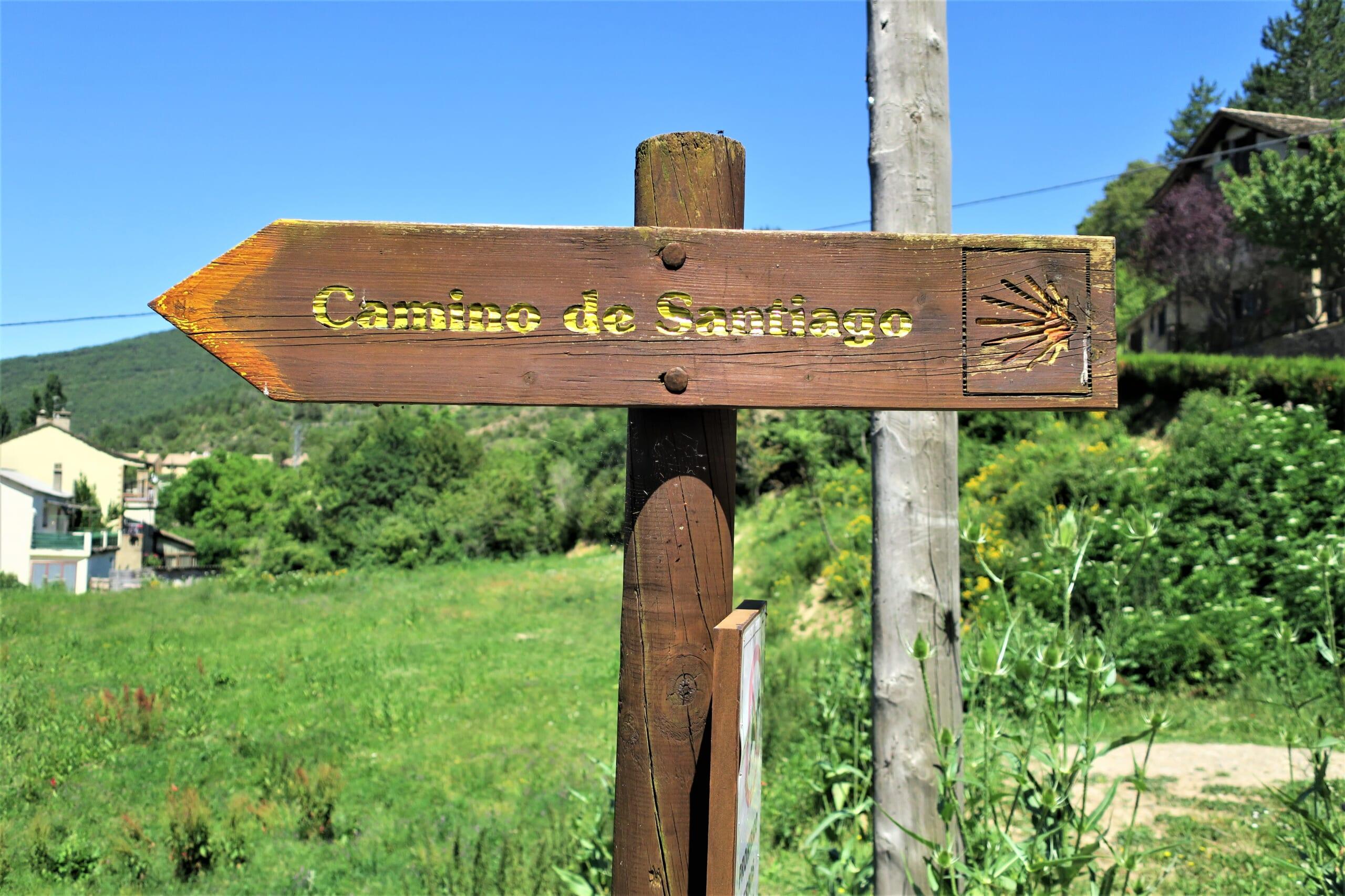 北スペインのサンティアゴ巡礼路