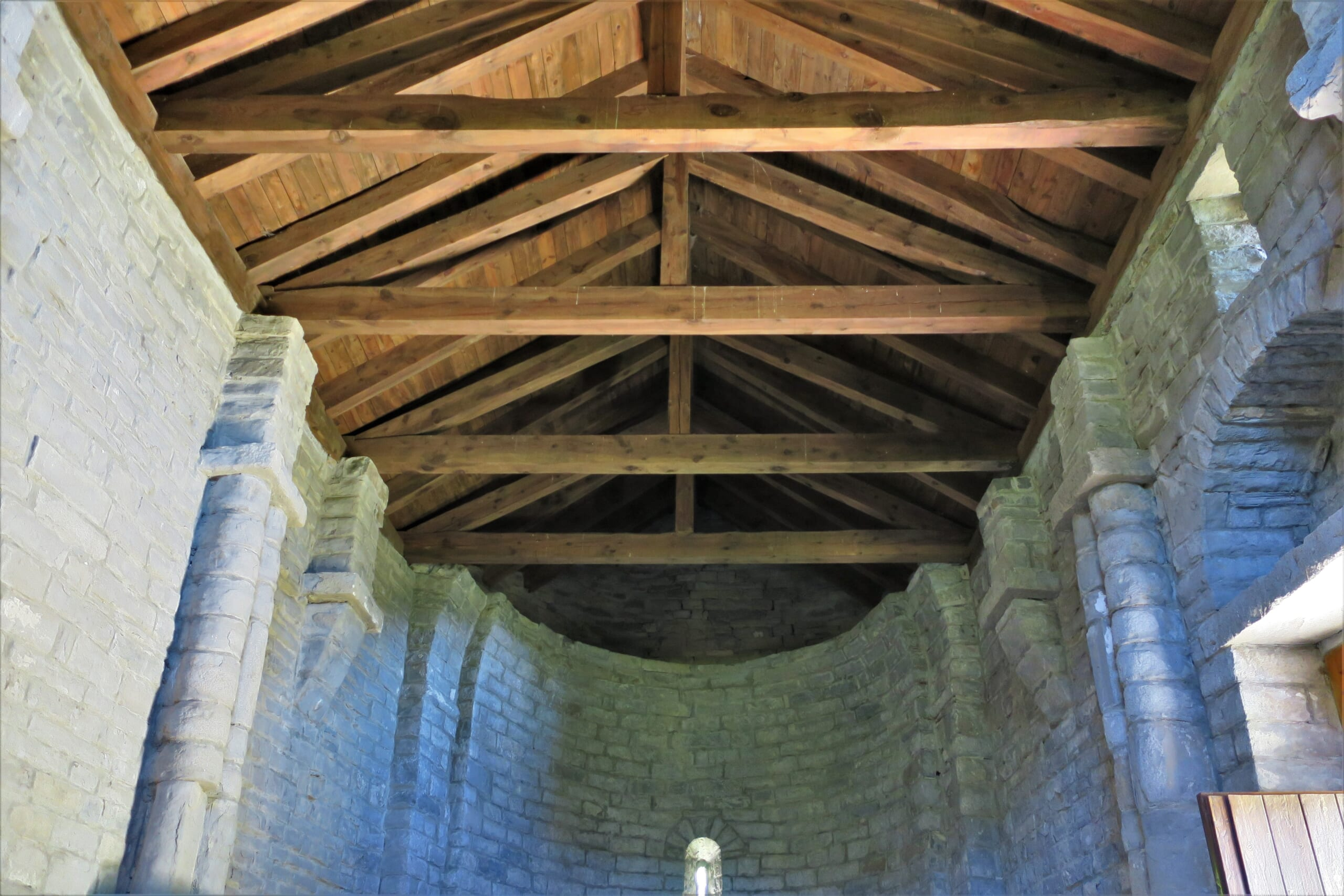 北スペインのプレロマネスク様式の教会
