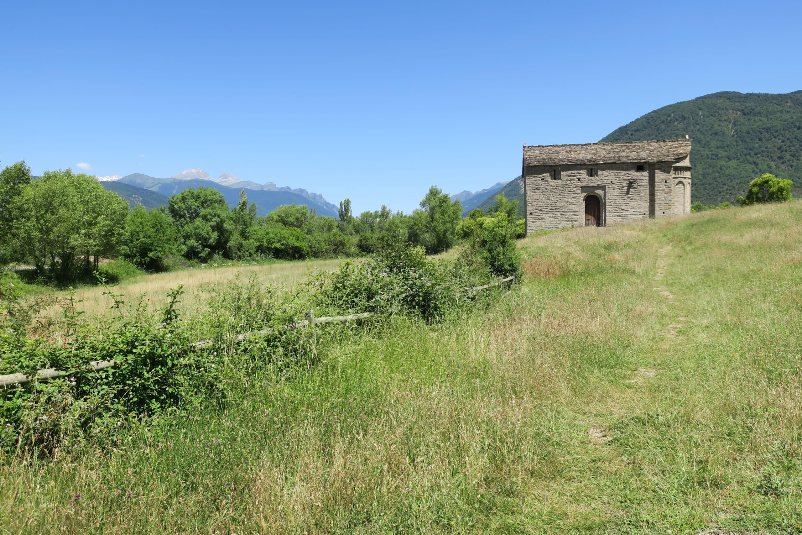 北スペインのプレロマネスク様式の建築物