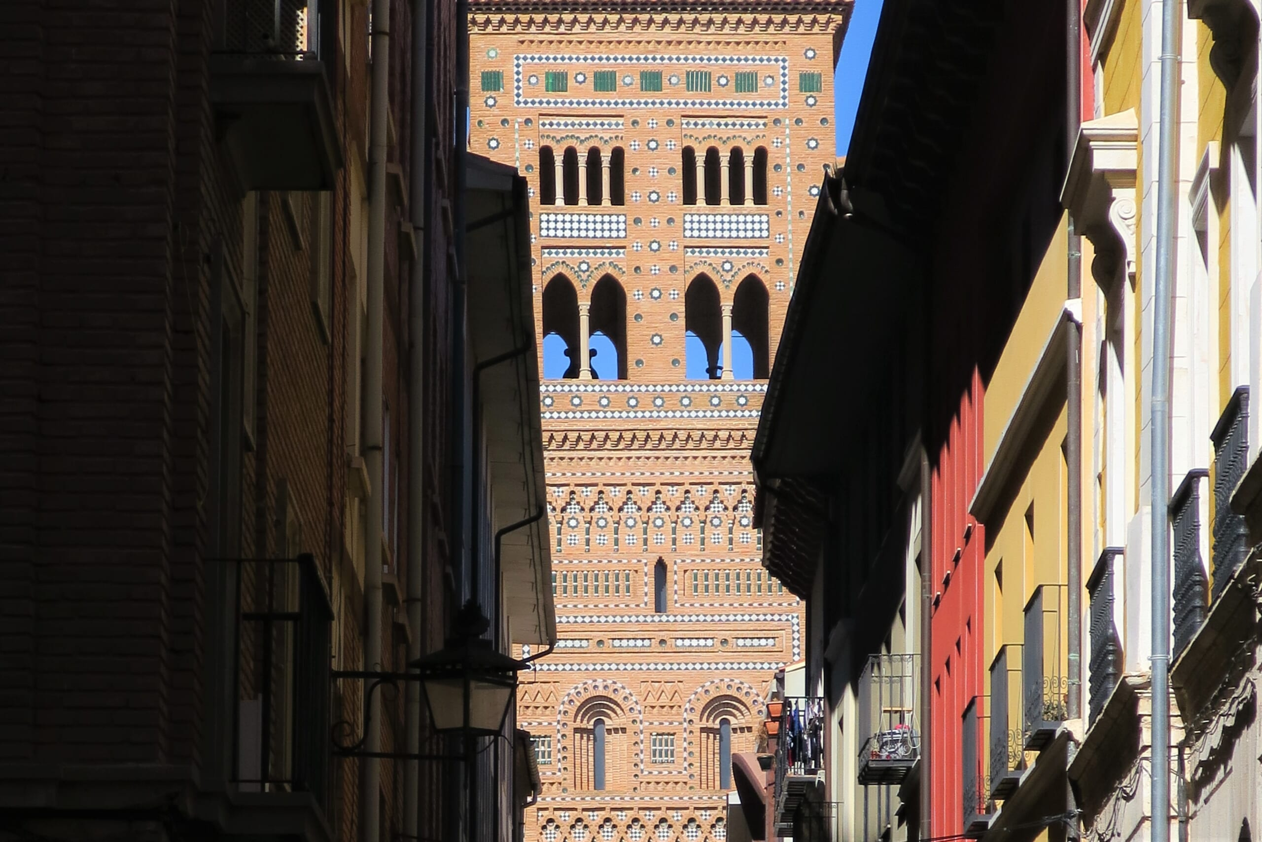 北スペインのムデハル様式の教会