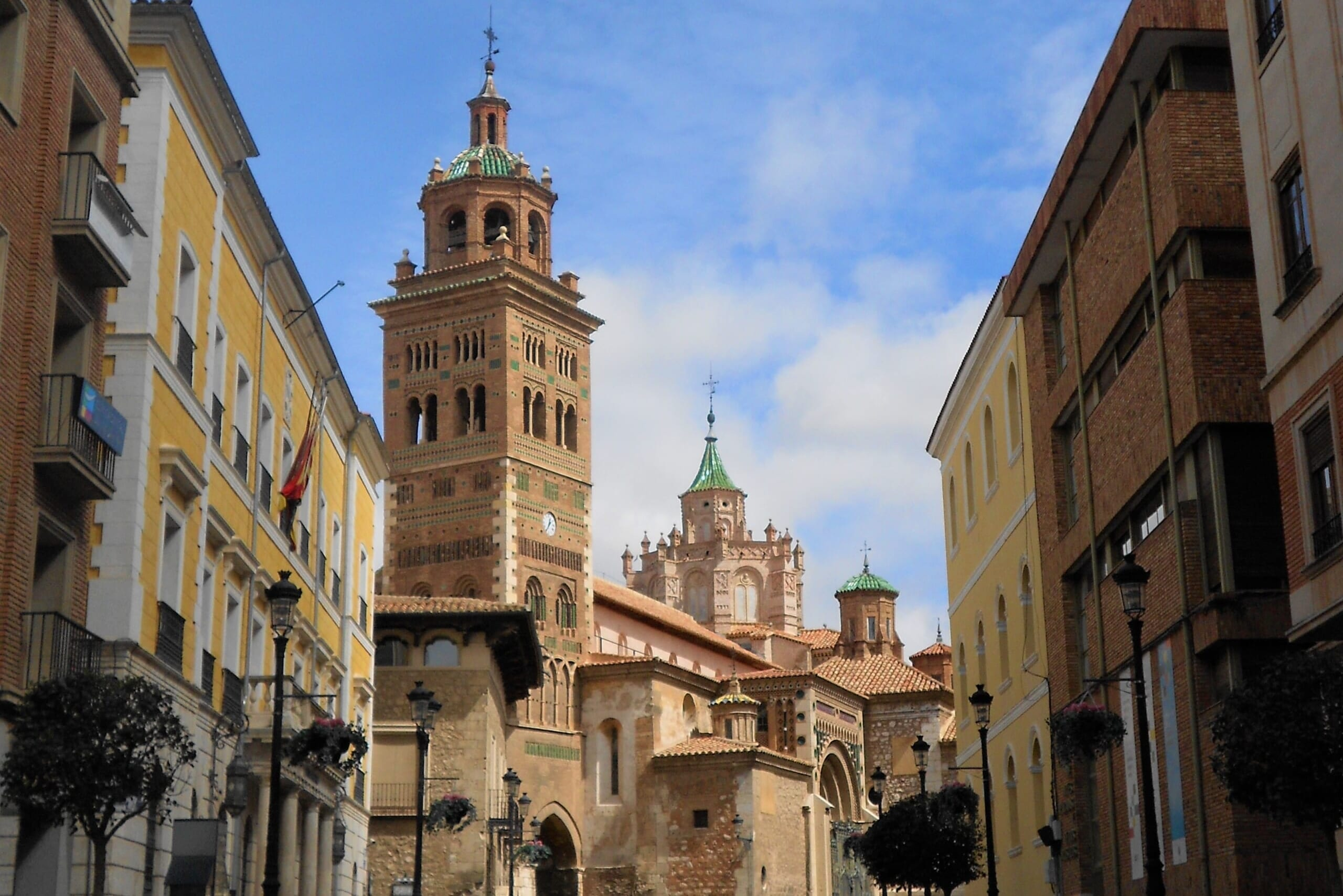 北スペインのムデハル様式の建築物