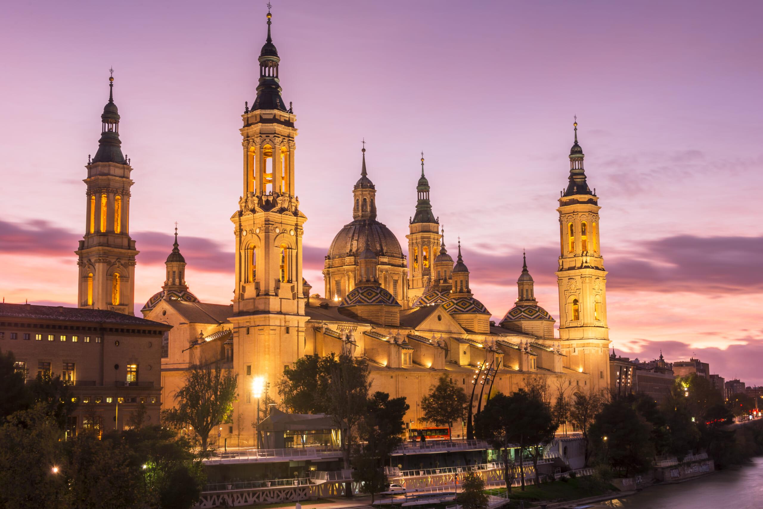北スペインのバロック様式の建築物