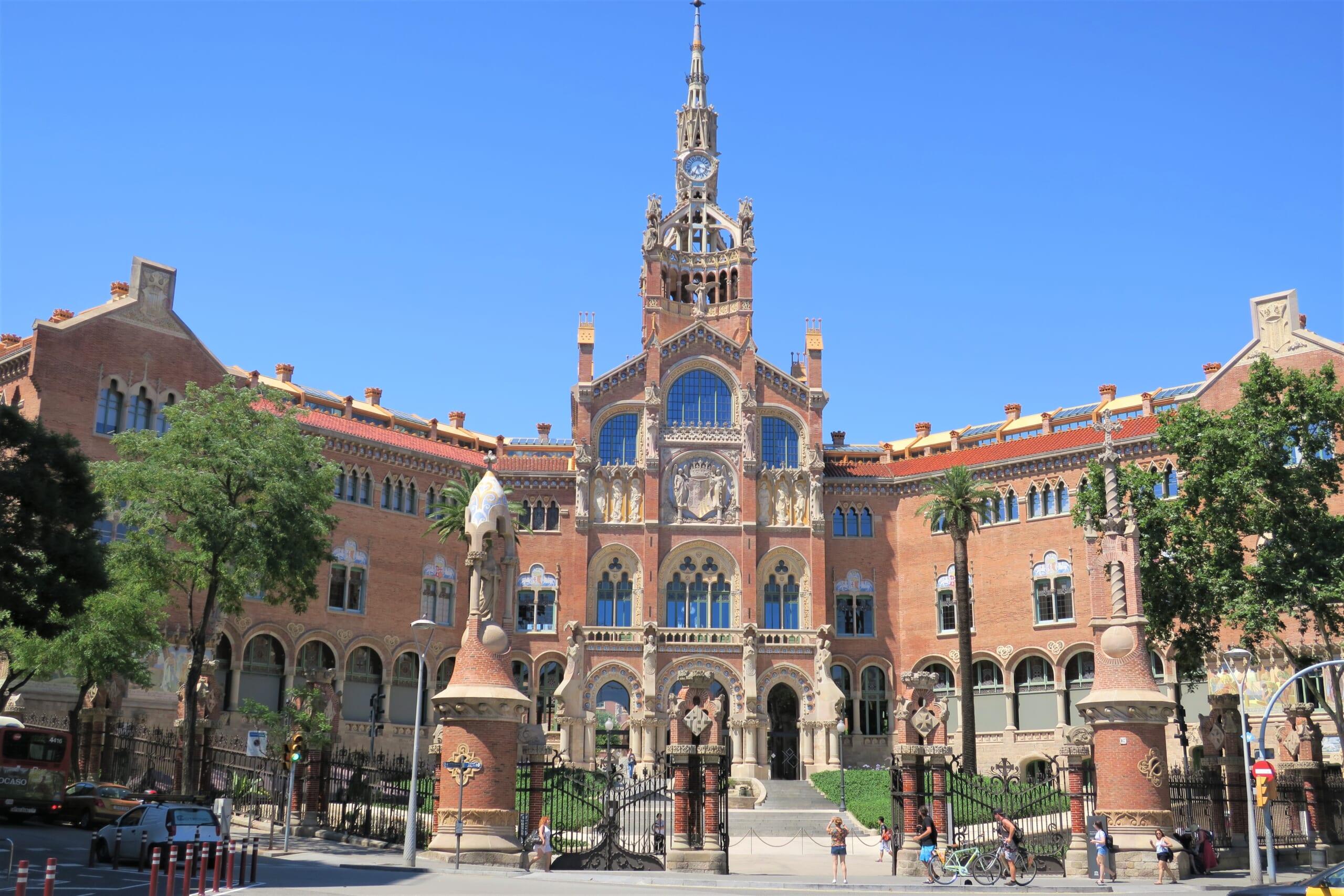 北スペインのモデルニスモ建築