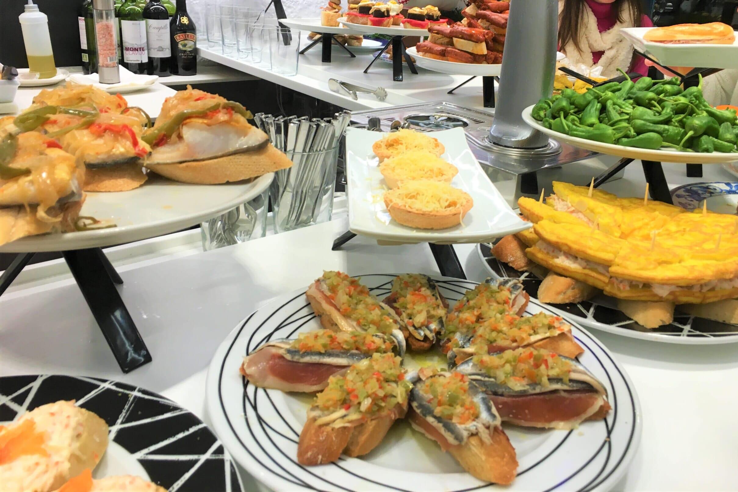 北スペインのバスクの食