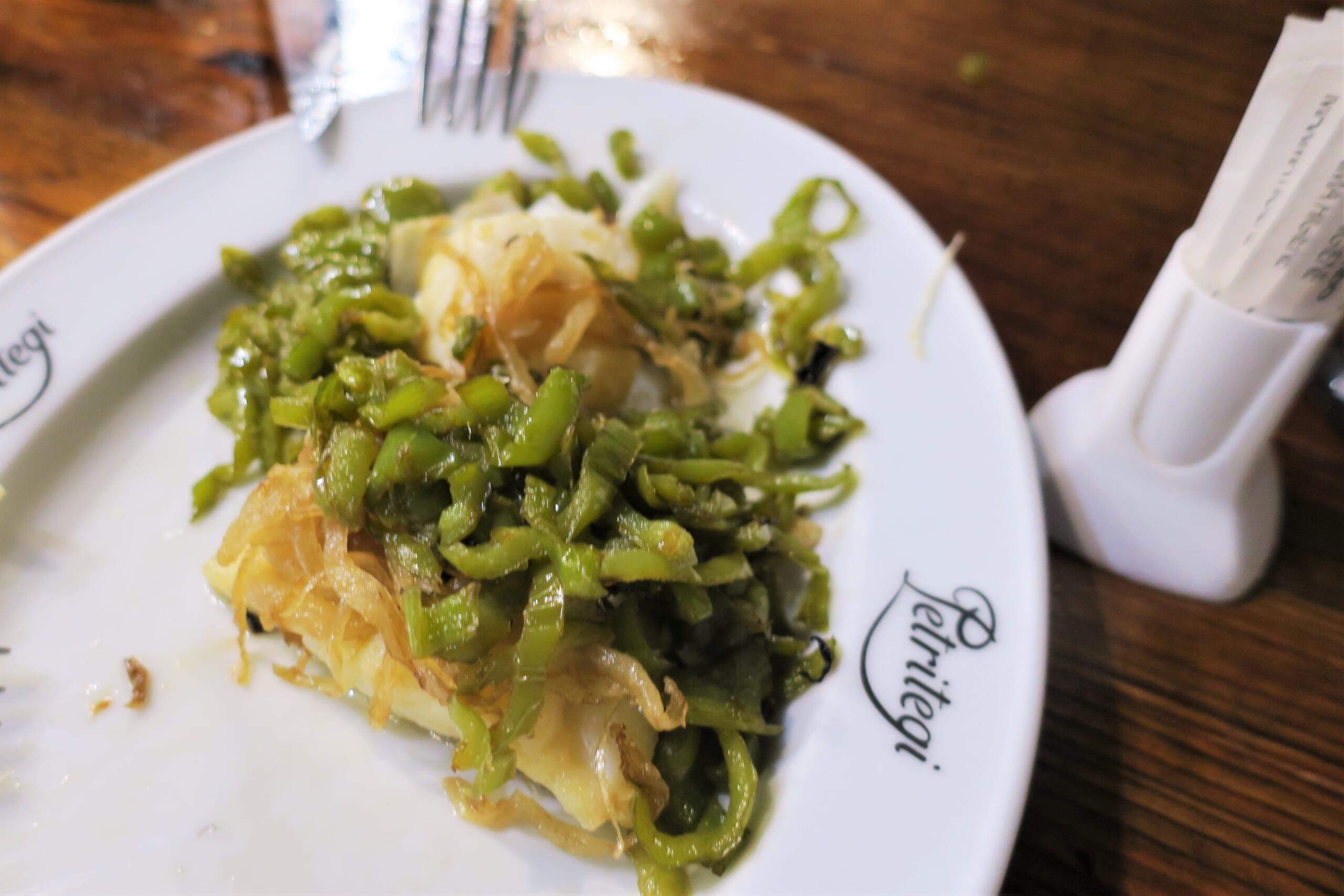 バスクのタラ料理