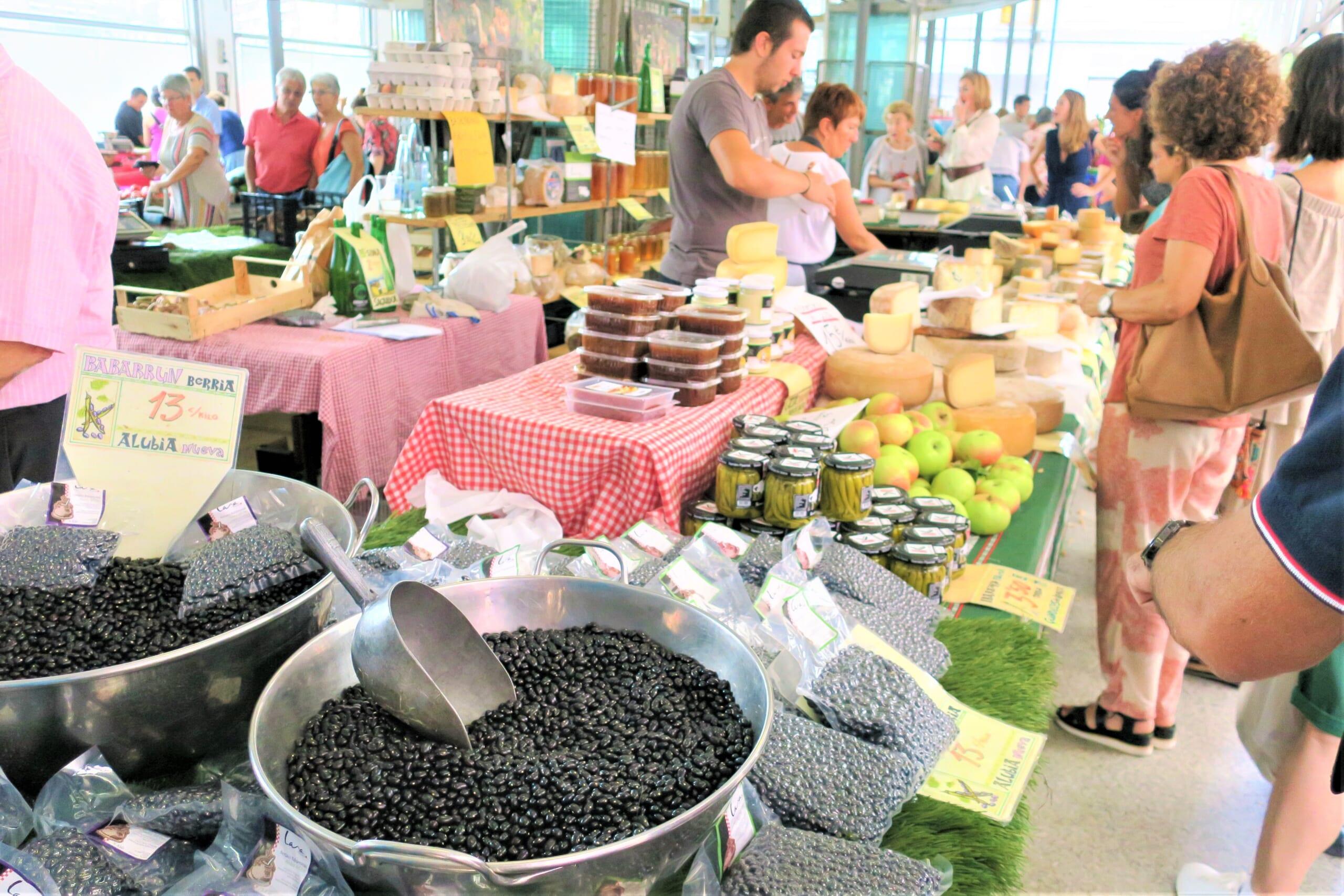 北スペインのバスクの黒豆