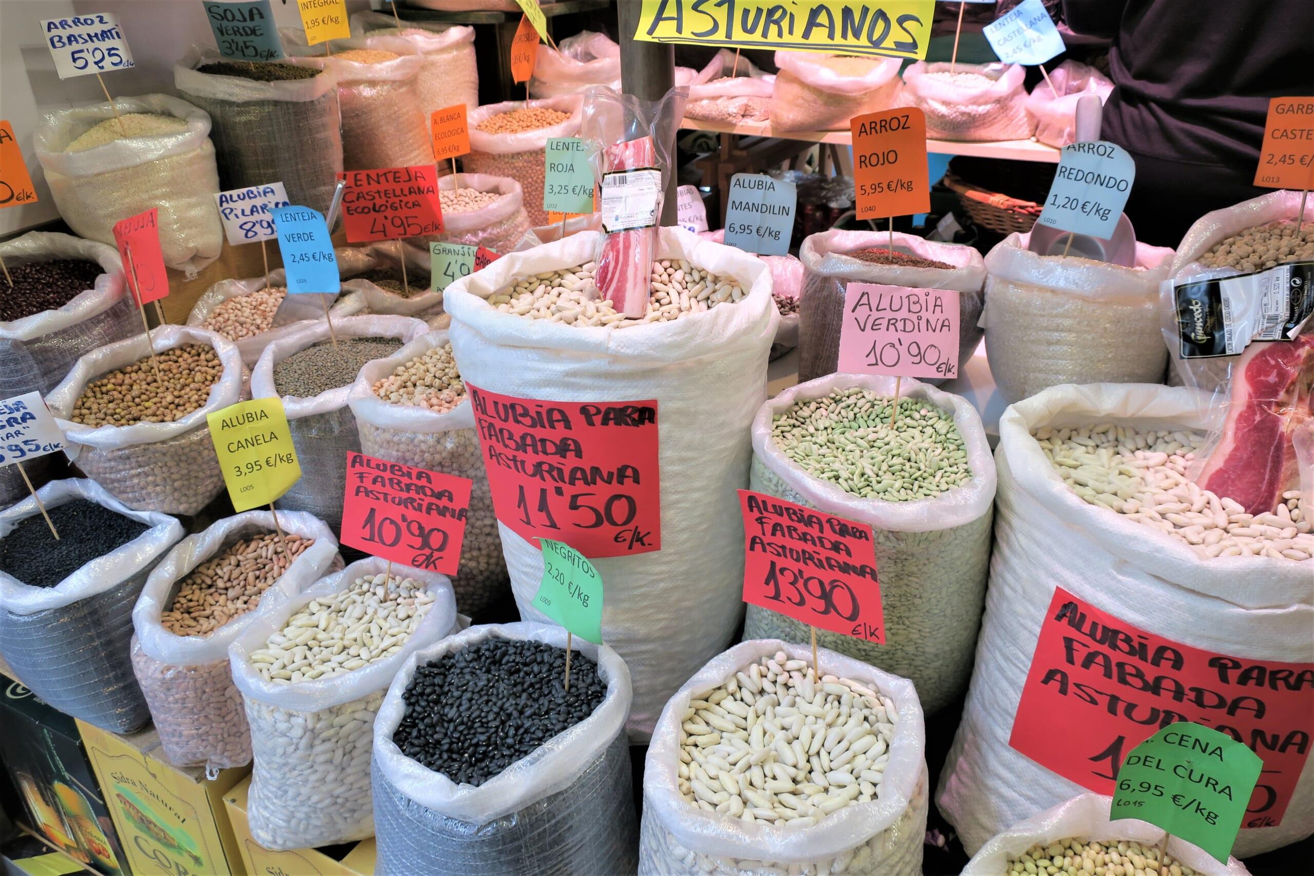 北スペインの豆