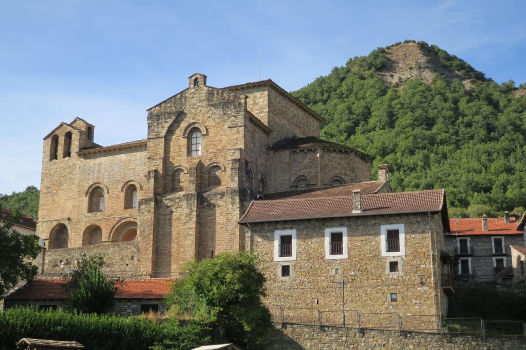 北スペインのロマネスク様式の建築物